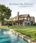 Behind the privets : classic Hamptons houses