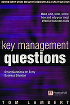 Key management questions smart questions for every business situation