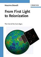 From first light to reionization : the end of the Dark Ages