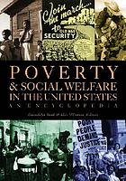 Poverty in the United States / Vol. 1, A - K.