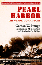 Pearl Harbor : the Verdict of History