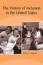 The history of inclusion in the United States