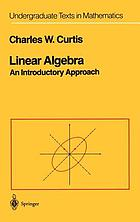 Linear algebra : an introductory approach