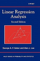 Linear regression analysis
