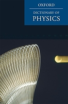 A dictionary of physics.
