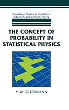 The concept of probability in statistical physics