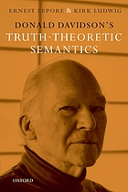 Donald Davidson's truth-theoretic semantics