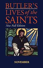 Butler's lives of the saints. November