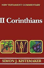 New Testament commentary : exposition of the second Epistle to the Corinthians