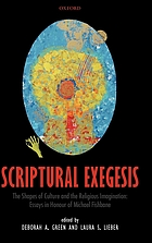 Scriptural exegesis : the shapes of culture and the religious imagination
