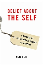 Belief about the self : a defense of the property theory of content