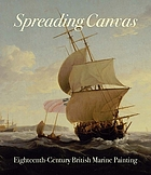 Spreading canvas eighteenth-century British marine painting