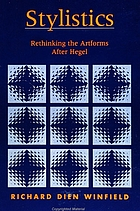 Stylistics : rethinking the artforms after Hegel