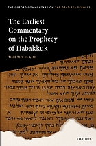 The earliest commentary on the prophecy of Habakkuk