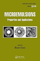 Microemulsions : properties and applications