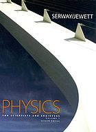 Physics for scientists and engineers.