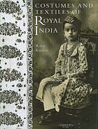 The Costumes and Textiles of India