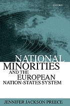 National minorities and the European nation-states system