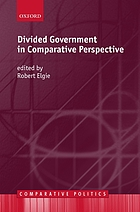 Divided government in comparative perspective