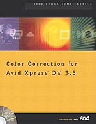 Color correction for Avid Xpress DV 3.5.