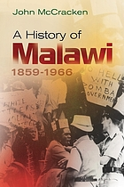 A history of Malawi, 1859-1966