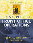 Principles of front office operations