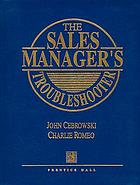 The sales manager's troubleshooter