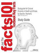 Studyguide for cultural diversity in health and illness
