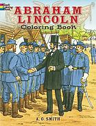 Abraham Lincoln coloring book