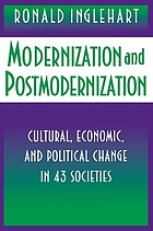 Modernization and postmodernization : cultural, economic, and political change in 43 societies