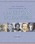 The Oxford encyclopedia of American literature [v. 1]
