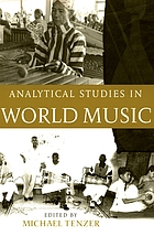 Analytical studies in world music / Buch.