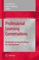 Professional learning conversations : challenges in using evidence for improvement