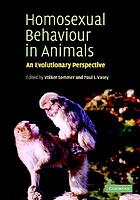 Homosexual behaviour in animals : an evolutionary perspective