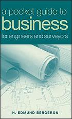 A pocket guide to business for engineers and surveyors