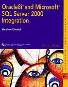 Oracle 8i and Microsoft SQL Server 2000 integration