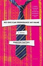 No one can pronounce my name : a novel