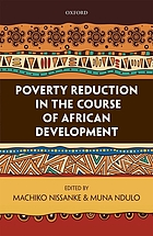 Poverty reduction in the course of African development
