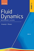 Fluid dynamics. Part 3, Boundary layers