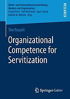 Organizational competence for servitization