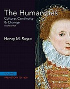 The humanities : culture, continuity & change