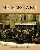 Sources of the West : readings in Western civilization