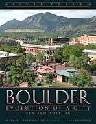 Boulder : evolution of a city