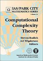 Computational complexity theory