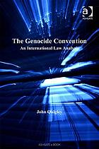 The Genocide Convention : an international law analysis