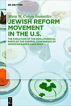 Jewish Reform Movement in the US.