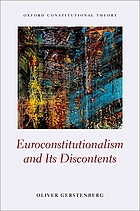 Euroconstitutionalism and its discontents