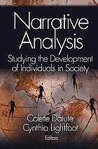 Narrative analysis : studying the development of individuals in society