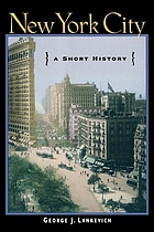New York City : a short history