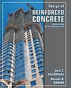 Design of reinforced concrete : ACI 318-08 (Book, 2009